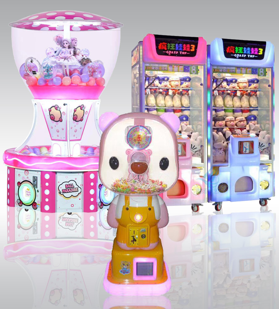 Toy Crane & Prize Gift Machine