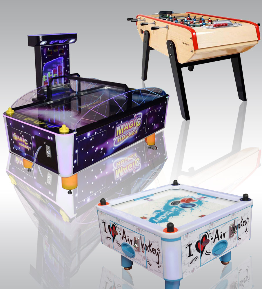 Air Hockey & Football Table
