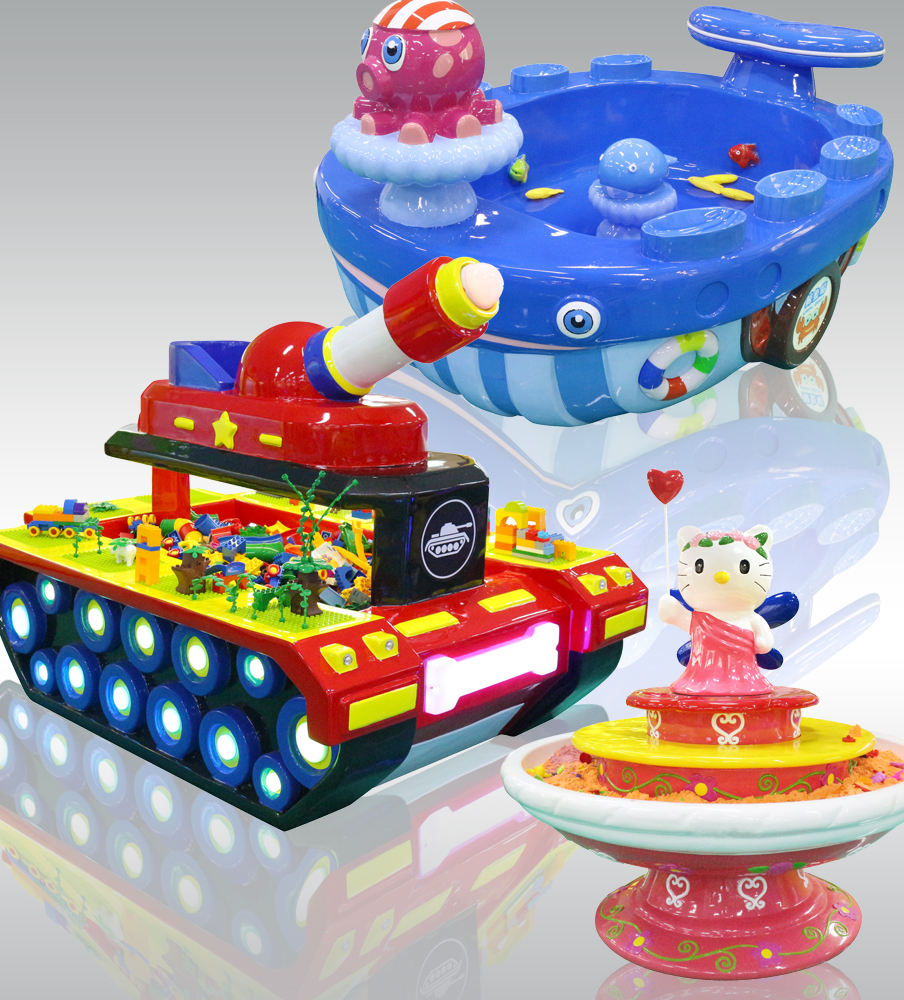 Sand Table & Fishing Pond& Building Block