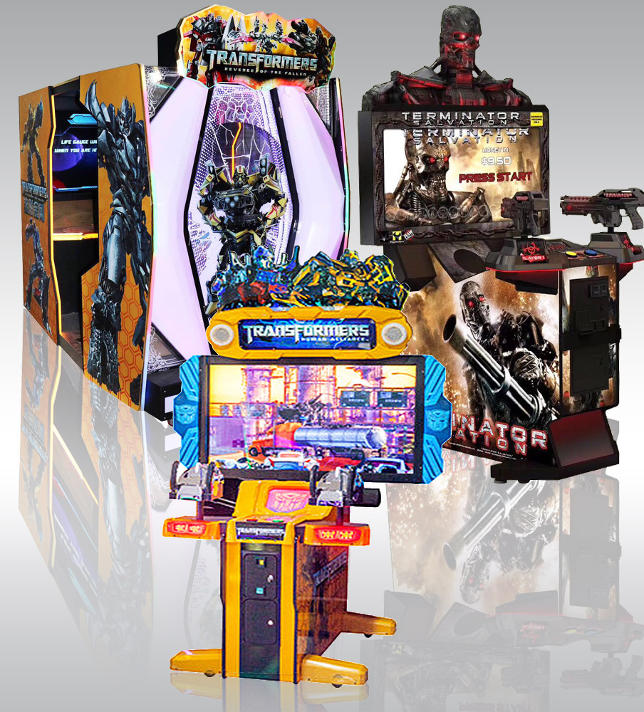 Simulator Shooting Game Machine