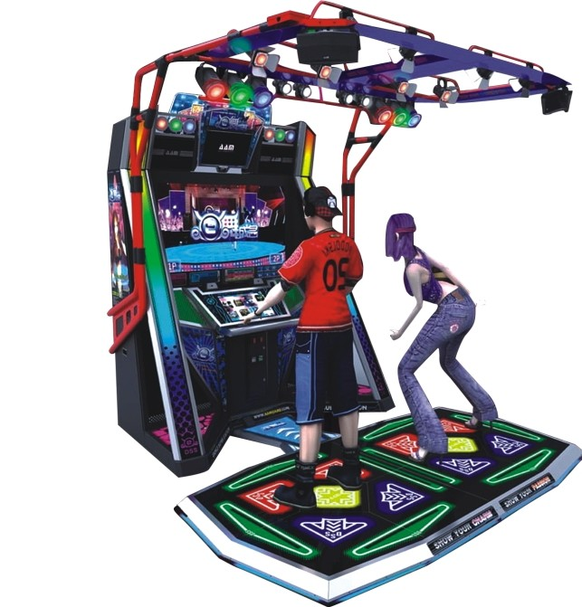 New style E-Dance Famous amusement game machine