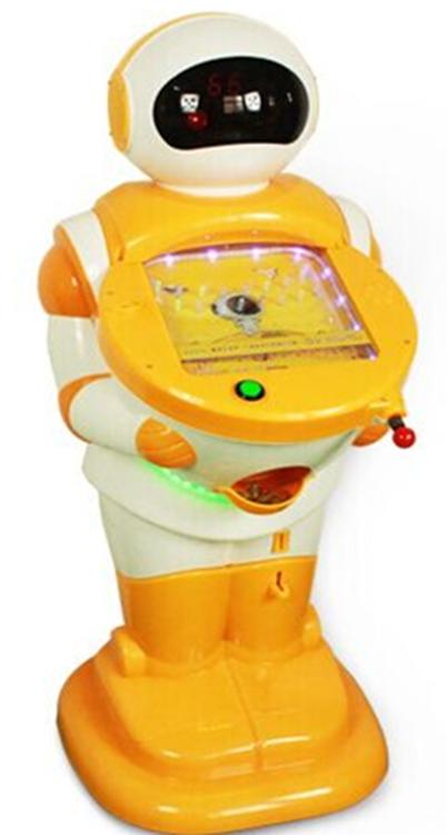 Robot marble arcade Pinball  game machine