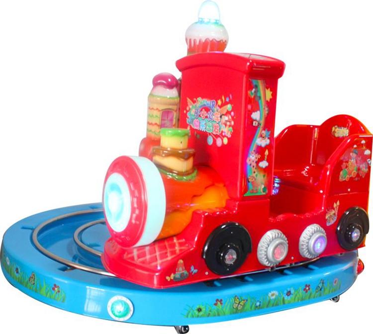 Dinibao Plastic Rail Train for Kiddie Ride