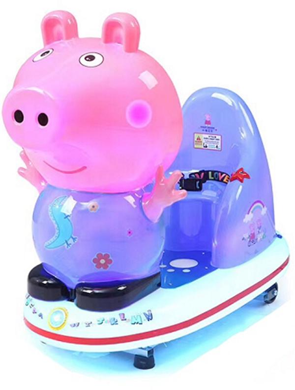 Hot selling popular Peppa Pig kiddie ride machine kids games