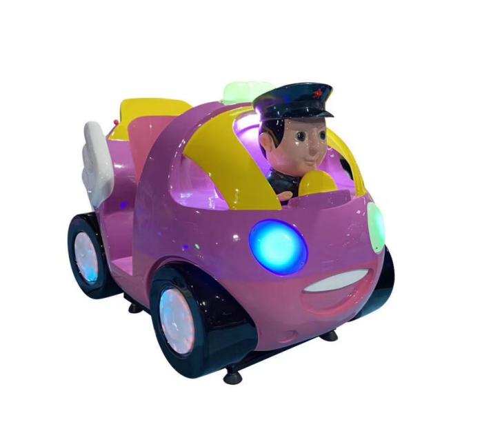Popular kiddie ride Q police coin operated kiddie ride arcade game machine