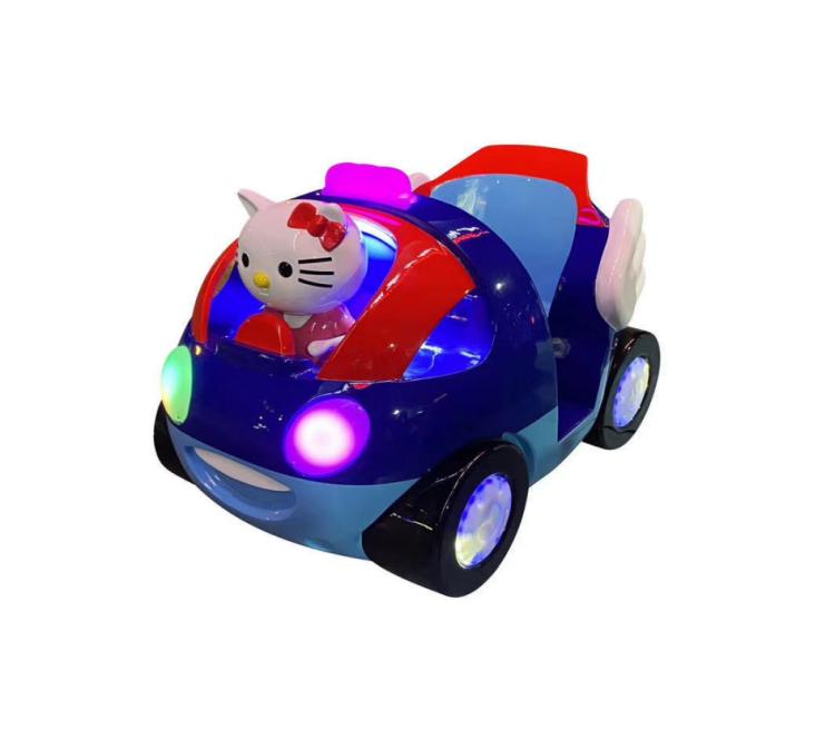 New design fun amusement Q KT cat kiddie ride for supermarket