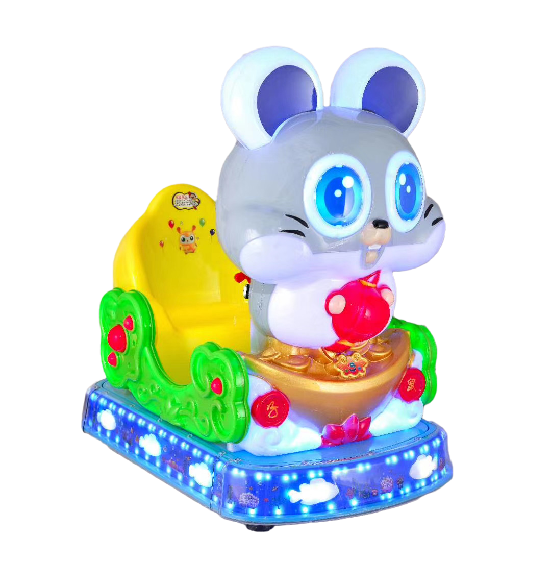 Dinibao Cute Mouse Kiddie Rides Coin Operated Ride Machine