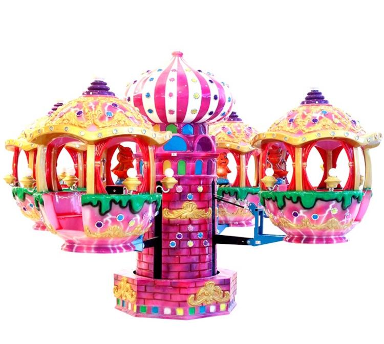 Cute design amusement park rides kids Moving Castle