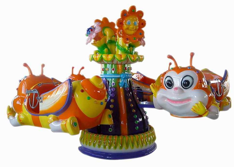 Amusement park products mechanical rides Bee carousel