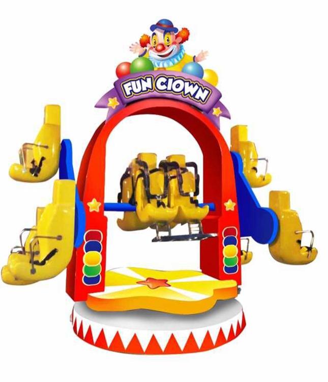 10 players Fun Clown game machine rides