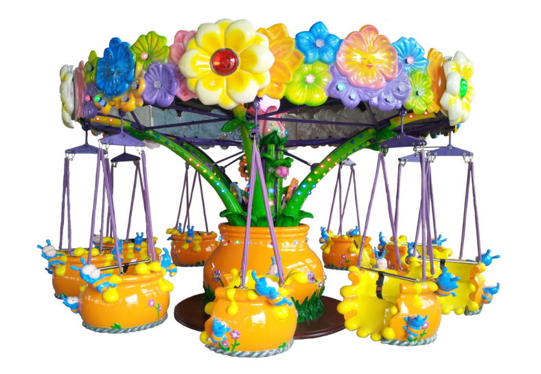 Dinibao Indoor Game Center Flowers Paradise Carousel For Sale