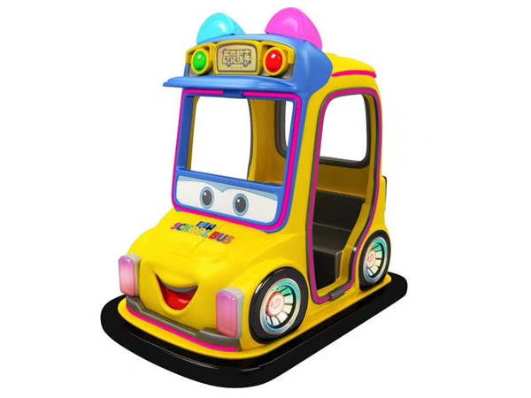 2020 New arrival Variety school bus Bumper Car for indoor rides