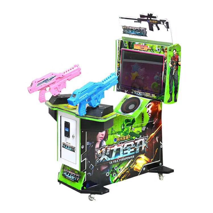 Hotselling 22LCD Ultra Firepower Arcade Shooting Gun Video Simulator Game Machine for Kids
