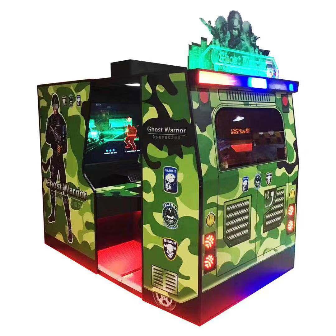 Amusement Park Coin Operated Arcade Machine Operation Ghost Gun Simulator Shooting Game Machine