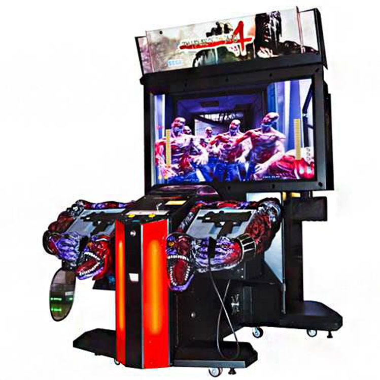 55 LCD The house of dead 4 amusement coin operated arcade gun simulator shooting game machine