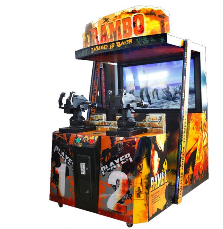 Dinibao amusement rambo shooting games simulator gun shooting arcade game machine