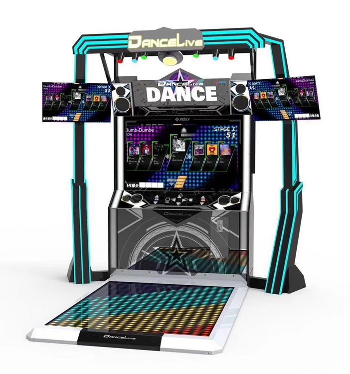 Dance Live Video Arcade Dancing Game Machine