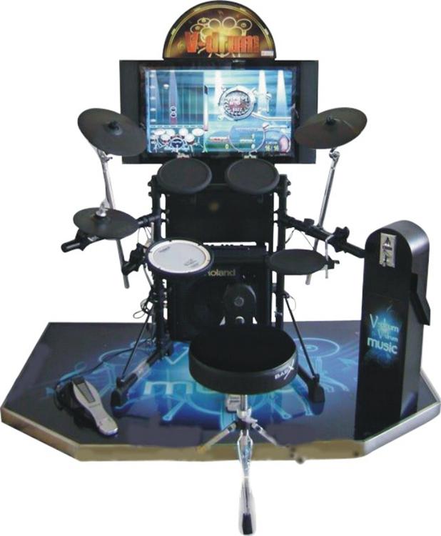 China factory Jazz Hero Arcade Jazz Drum Simulator Electric Music Equipment Game