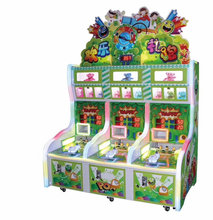 Happy Bubble Arcade booth game machine