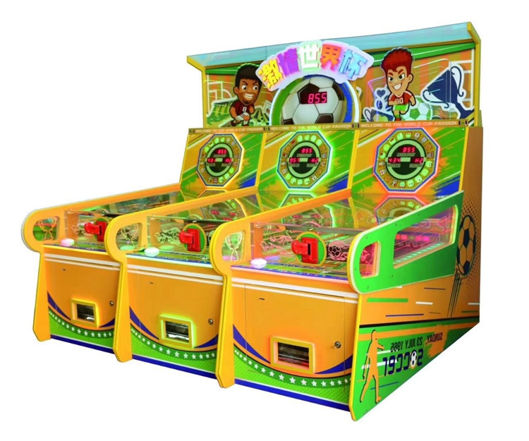 Passionate World Cup booth game machine