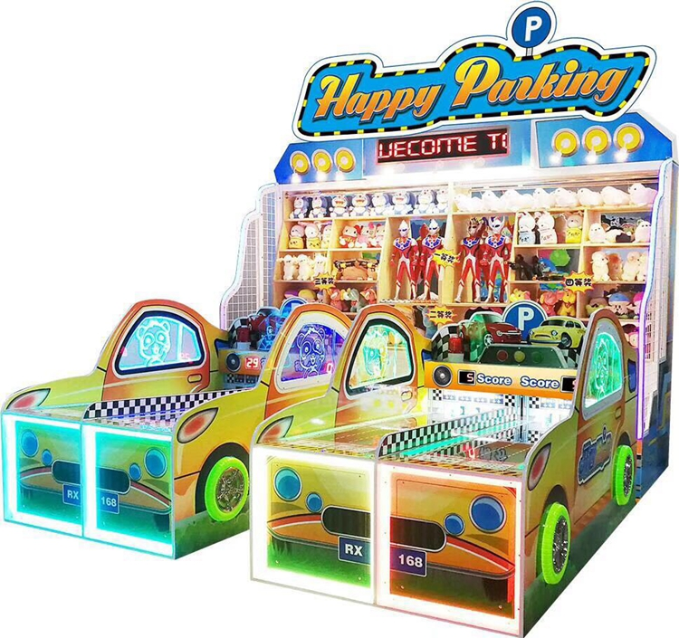 Carnival Booth Games Happy parking coin operated arcade game machine