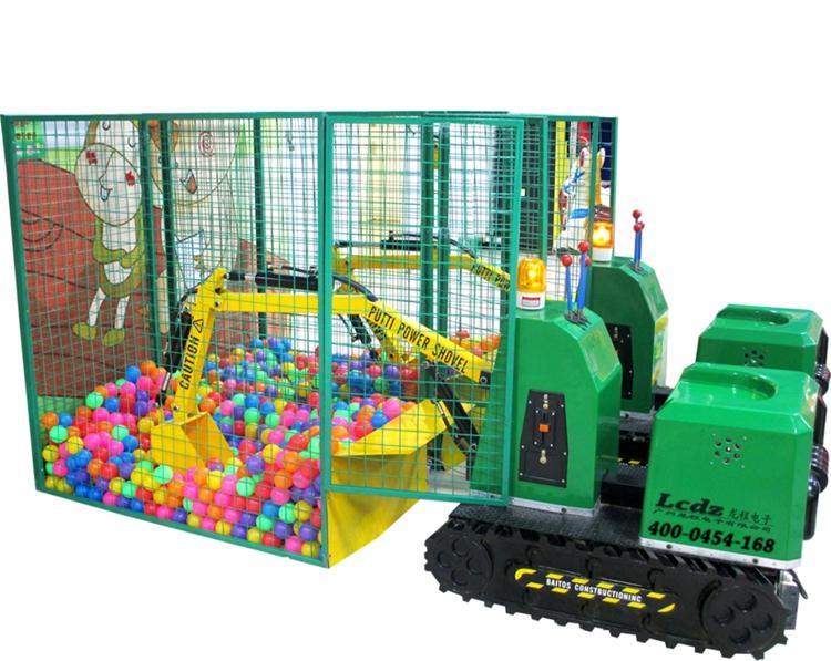 Popular Kids Learn Heavy Machines Baby excavators game machine