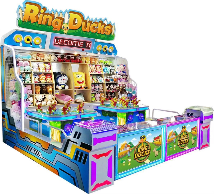 Carnival Booth Games machine Family Ring Ducks