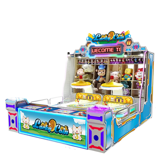 Sports Indoor Carnival Lucky Coin Game Machine