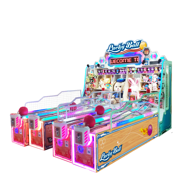 China factory Dinibao Carnival booth Game lucky ball booth game Machine for sale