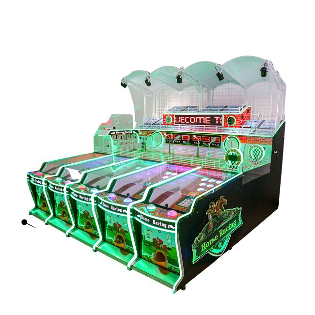 Dinibao 5 players Carnival Horse racing booth game machine
