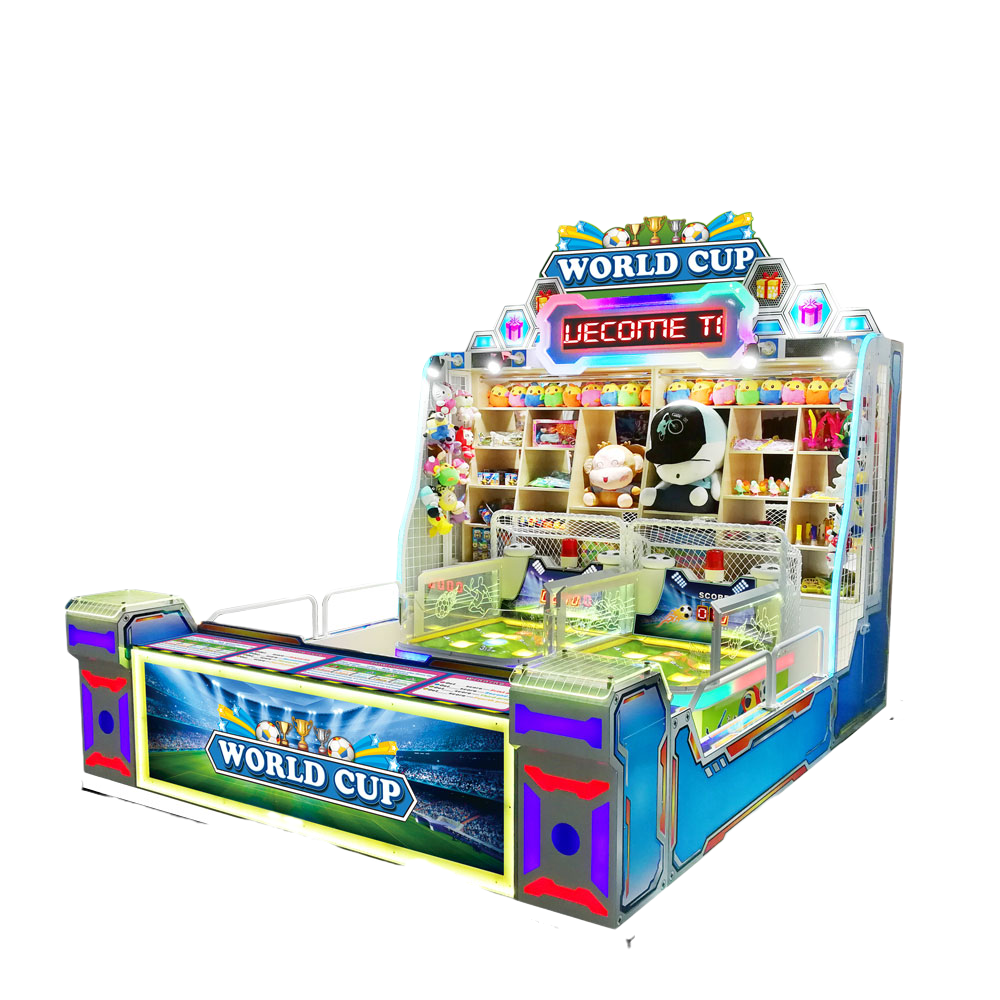 Dinibao New Arrivals Carnival World cup arcade booth game machine