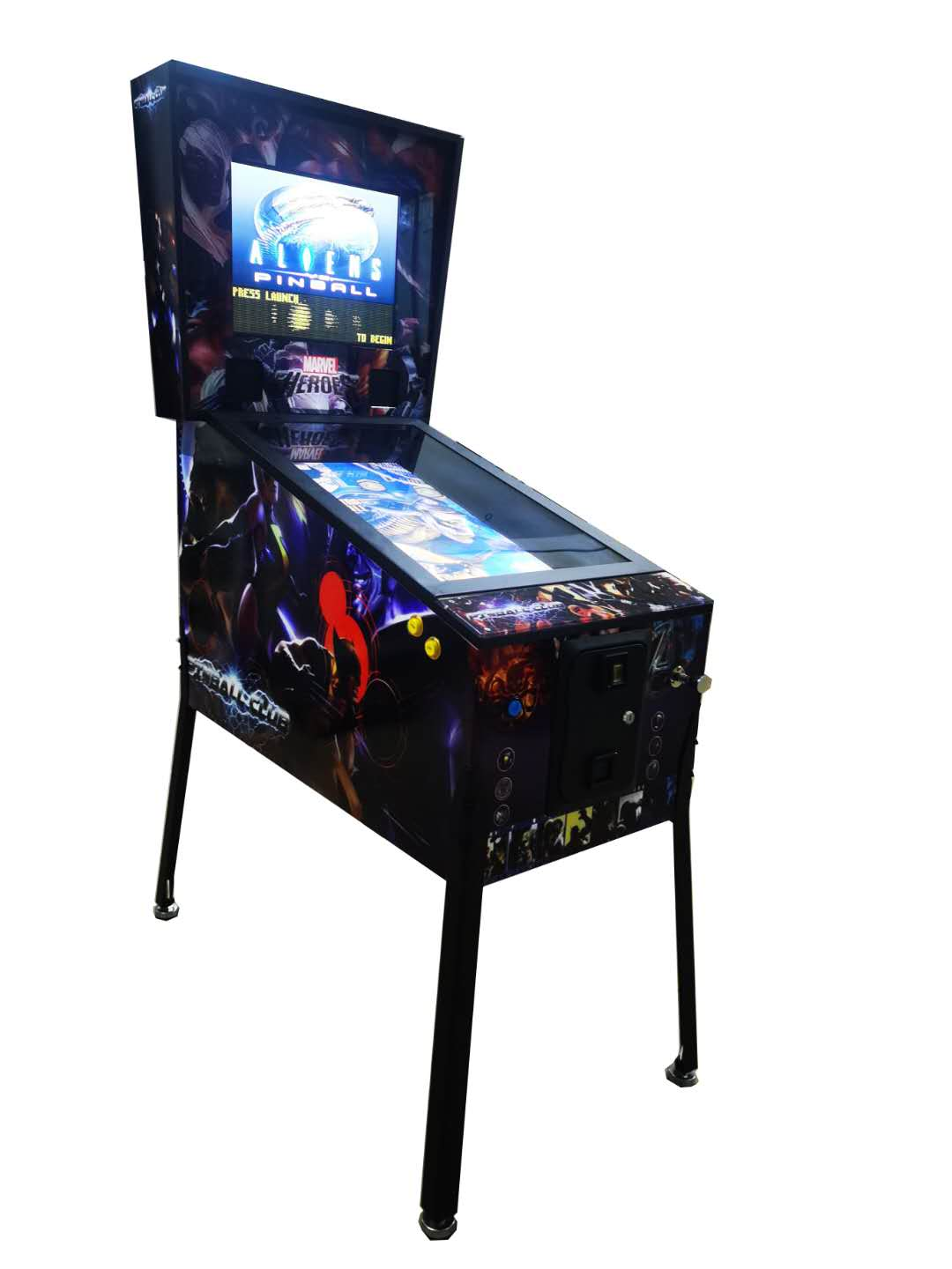 32 inch Virtual  Space Pinball  game machine for indoor game center