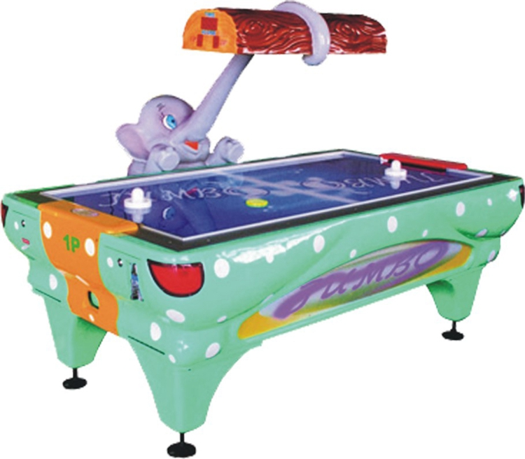 Indoor Coin Operated Arcade Sports Redemption Games Kids Elephant Air Hockey Table Machine