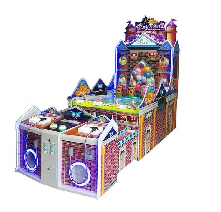 2020 Dinibao Newest Design Carnival Holloween Shooting Arcade Booth Game Machine