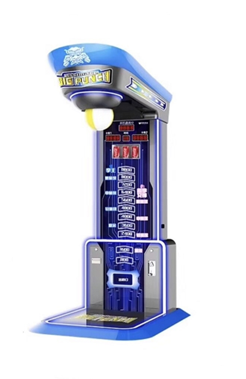 Token Operated Big Punch Boxing Arcade Game Machine