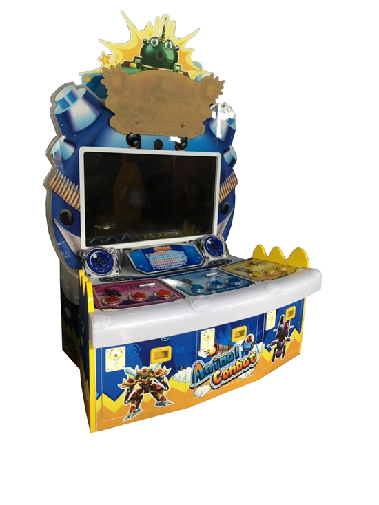 Indoor Lottery Amusement Coin Operated Animal Combat Game Machine