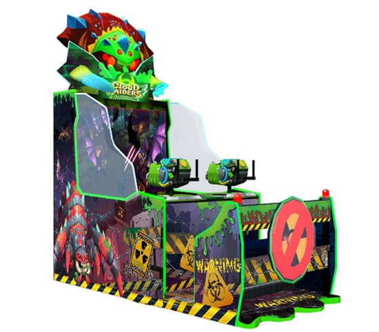 Indoor Amusement War monster Game Machine Coin Operated Arcade Redemption Games For Sale
