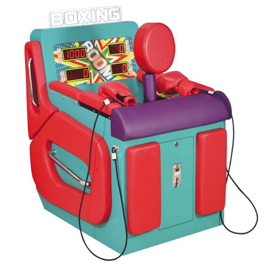 Attractive Design Boxing Punch Arcade Lottery Game Machine