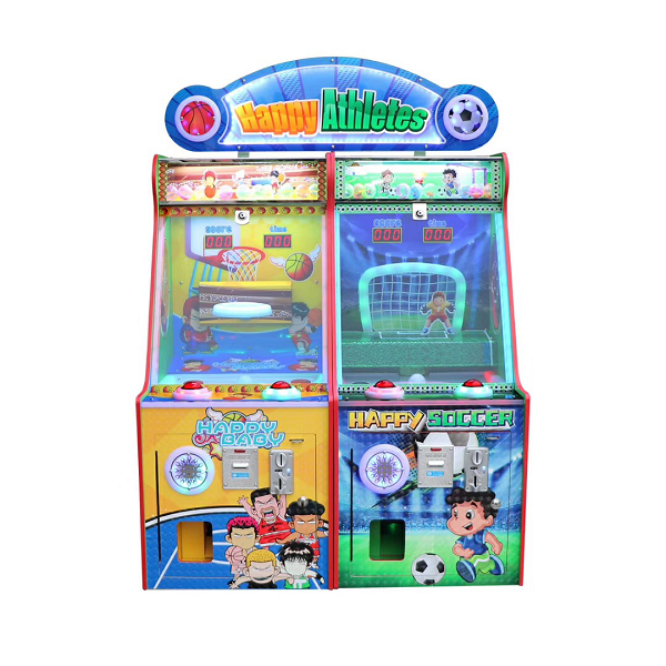 2020 Dinibao Newest Happy Athletes Arcade Lottery Game Machine