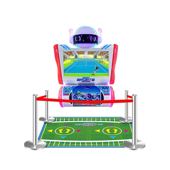 Hot Sale Indoor Amusement Coin Operated Kinect Sports  Lottery Redemption Machine