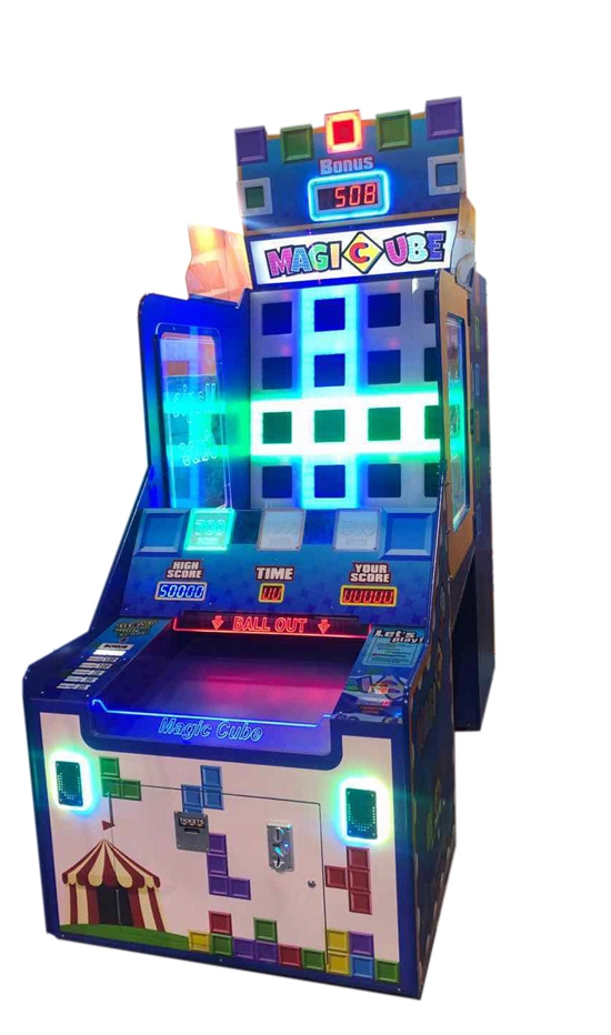 Dinibao Magic Cube arcade Ticket Redemption Machine coin operated games for sale