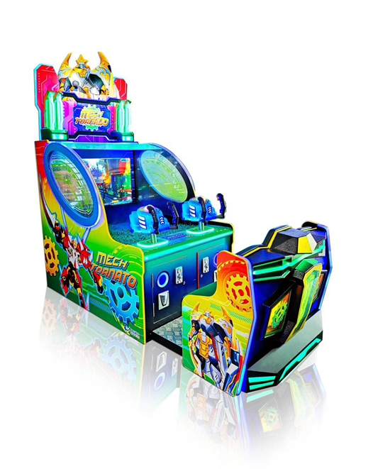 Mech Tornato Kids Arcade Ticket Redemption Game Machine for sale