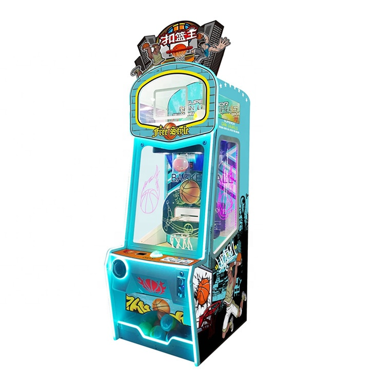 2020 New Design Dunk king coin operated Redemption Game Machine