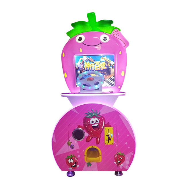 Dinibao Low Price Indoor Amusement Strawberry Ticket Redemption Machine