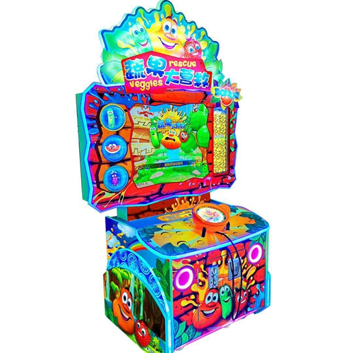 Vegetable Rescue Ticket Game Machine for Indoor game zone