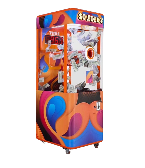 Coin Operated Lucky tornado Arcade Ticket Redemption Game Machine