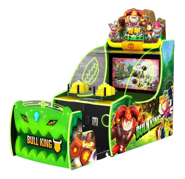 Monster Bull Demon King Coin Operate Game shooting Redemption Machine