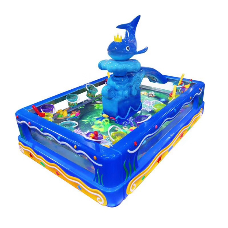 Fishing arcade games dolphin fishing pond machine