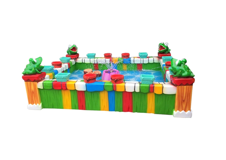 Kids Amusement Game Machines Colorful Fishing Pond