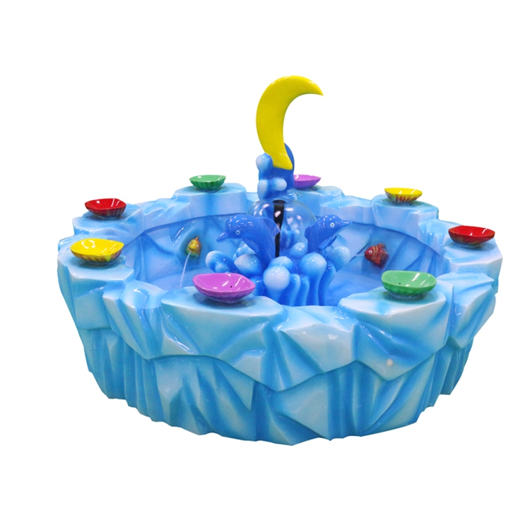 Kids Amusement Game Machines Moon style  Fishing Pond